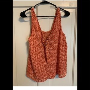 Anthropologie Verena Tie-Front Blouse Maeve Small
